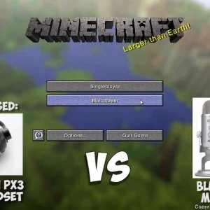 HUNGER GAMES MINECRAFT! NEW MIC: BLUE YETI VS GAMING HEADSET