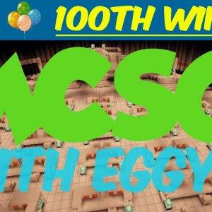 Minecraft Survival Games w/EggyBread #21 - 100TH WIN!