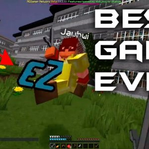 How NOOBS Play Minecraft Survival Games (We Found Jewish Huahwi) MCSG #1 w/ Philly67 & Nicolee
